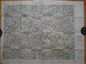 Amiens 17. France 1: 100.000. Geographical Section. General Staff, No. 2364. 2nd edition. (minor ...
