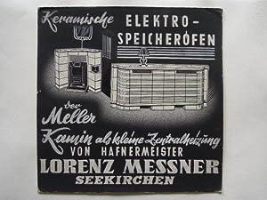 Keramische Elektro-Speicheröfen - der Meller Kamin als kleine Zentralheizung von Hafnermeister...