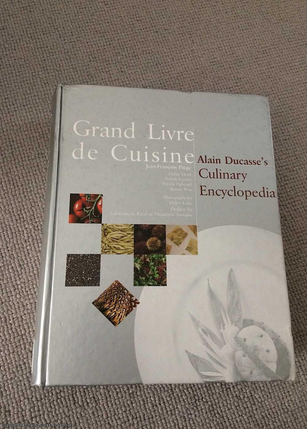 Grand livre de cuisine zvab for Alain ducasse grand livre de cuisine