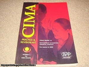 Cima Paper 13 - Stage 3: Management