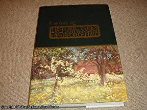 Survey of Historic Parks and Gardens in Herefordshire (SIGNED 1st edition)
