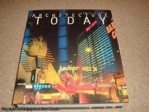 Architecture Today (1st edition Phaidon hardback): Steele, James