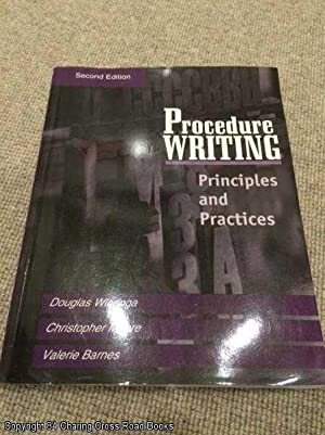 Procedure Writing: Principles and Practices (2nd edition): Wieringa, R. J.
