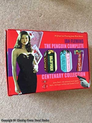Ian Fleming The Penguin 007 Collection - Boxed Set of 14 James Bond Novels, complete