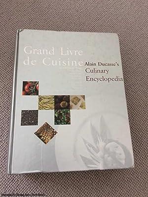 Grand livre de cuisine de alain ducasse abebooks for Livre cuisine ducasse