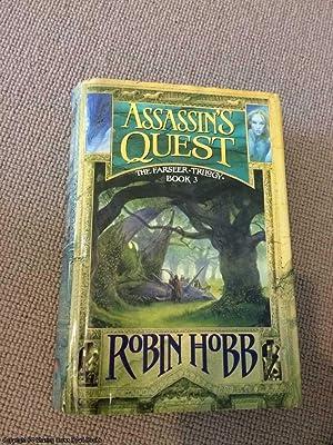 Assassin's Quest (1st Impression 1st Voyager Hardback,: Hobb, Robin