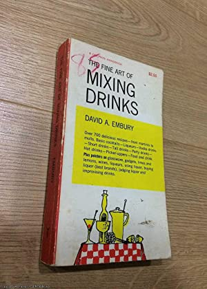 The fine art of mixing drinks (1961 Dolphin paperback)