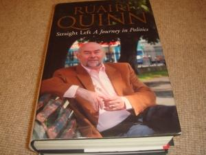 Straight Left (1st Edition Hardback): Ruairi Quinn