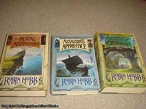Farseer Trilogy 1st edition hardbacks - Assassin's: Hobb, Robin