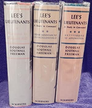 Lee's Lieutenants; Vol I - III.: Freeman, Douglas Southall