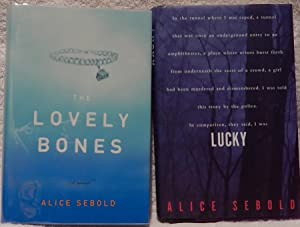Two Books: Lucky, and The Lovely Bones: Sebold, Alice