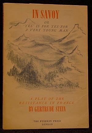 In Savoy: Stein, Gertrude