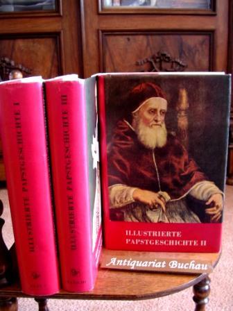 Papstgeschichte 3 Bände: Band 1: Von Petrus: Castella, Gaston.: