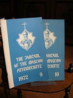 The Journal of the Moscow Patriarchate. 1972 No. 9. + 10