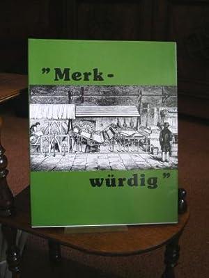 """Die Papiermacher im Landkreis Ravensburg """"Merk-würdig"""" 7.: Preger, Max:"""