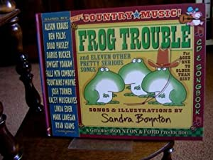 Frog Trouble. Book + CD