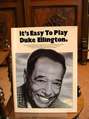 It's Easy to Play Duke Ellington. With lyrics and chord symbols