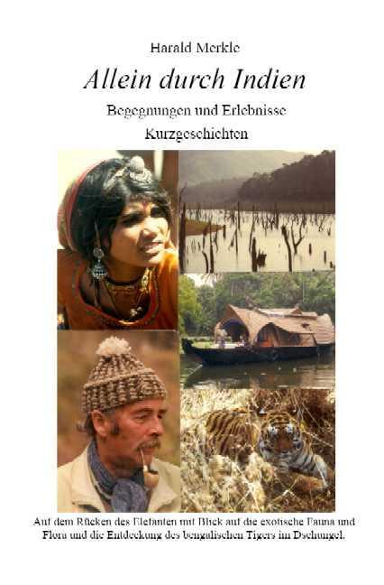 Allein durch Indien. Begegnungen und Erlebnisse.Kurzgeschichten - Merkle, Harald