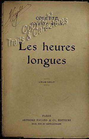 Les heures longues.: Colette
