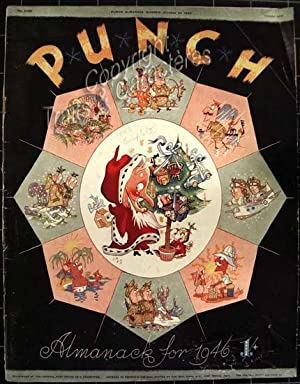 Punch or the London Charivari. Almanack for 1946.