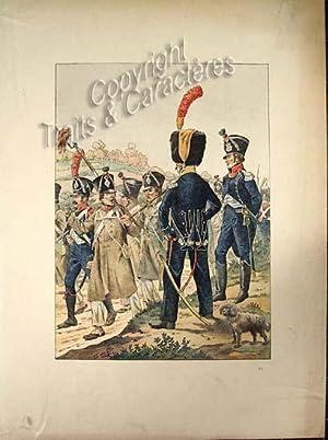 Officiers de voltigeurs et de chasseurs d'infanterie: Job [Jacques Onfroy