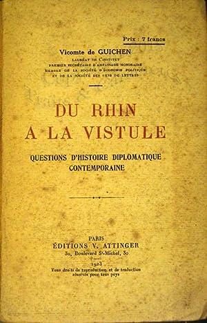 Du Rhin à la Vistule, questions d'histoire: Guichen (Vicomte de)