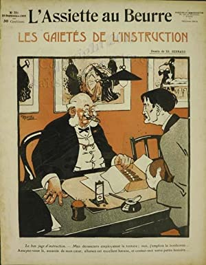 L'assiette au beurre. Les gaietés de l'instruction.