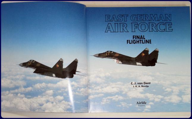 EAST GERMAN AIR FORCE  Final flightline