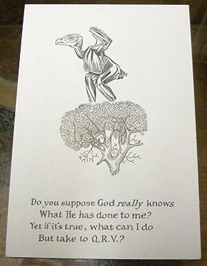Q. R. V. HIKUPTAH. A Dozen Dogear Wryde Postcards. Along with Q. R. V. UNWMKD. IMPERF. A Dozen ...