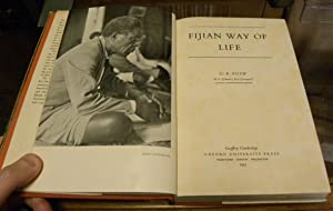 FIJIAN WAY OF LIFE: Roth, G.K.