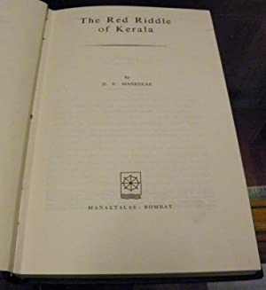 THE RED RIDDLE OF KERALA: Mankekar, D.R.