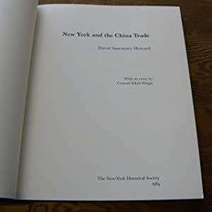 NEW YORK AND THE CHINA TRADE.