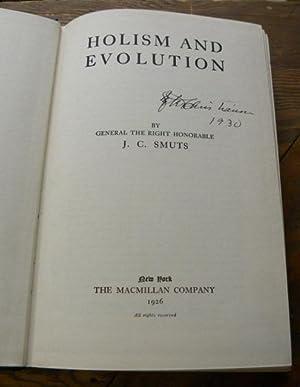 HOLISM AND EVOLUTION: Smuts, J. C.
