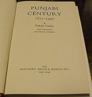 PUNJABI CENTURY 1857-1947: Tandon, Prakash