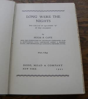 LONG WERE THE NIGHTS. THE SAGE OF: Cave, Hugh B.
