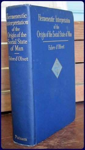 HERMENEUTIC INTERPRETATION OF THE ORIGIN OF THE SOCIAL STATE OF MAN AND OF THE DESTINY OF THE ...