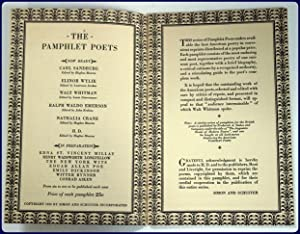 THE PAMPHLET POETS: H. D.: Mearns, Hughes