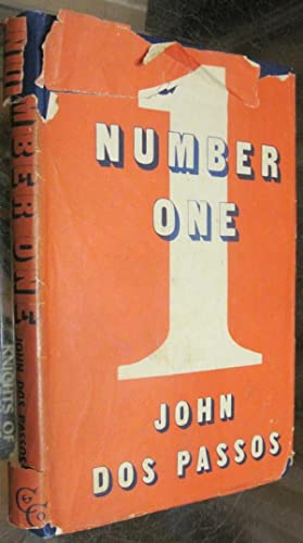 NUMBER ONE. a novel.: Dos Passos, John