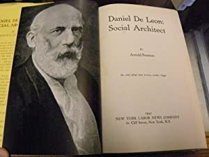 DANIEL DE LEON. SOCIAL ARCHITECT.: Petersen, Arnold
