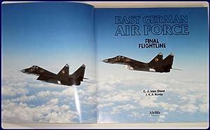 EAST GERMAN AIR FORCE. Final flightline.: van Gent, C. J.