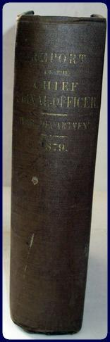 ANNUAL REPORT OF THE CHIEF SIGNAL-OFFICER TO THE SECRETARY OF THE ARMY.YEAR 1879.: War Department ...