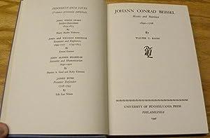 JOHANN CONRAD BEISEL. MYSTIC AND MARTINENT, 1690-1768.: Klein, Walter C.