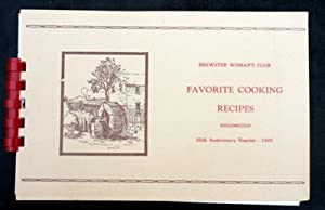 FAVORITE COOKING RECIPES Collected by Mrs. Edward R. Jackson. 55th. Anniversary Reprint, 1966.