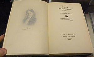 CARLA WENCKEBACH, Pioneer.: Muller, Margarethe