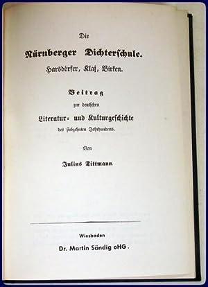 DIE NURNBERGER DICHTERSCHULE: Tittmann, J.