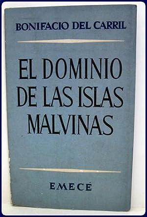 EL DOMINIO DE LAS ISLAS MALVINAS.: Del Carril, Bonifacio