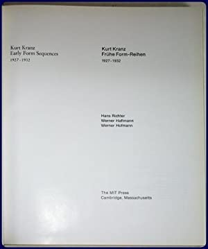 KURT KRANZ. EARLY FORM SEQUENCES, 1927-1932.: Richter, Hans; Haftmann, Werner; & Hofmann, Werner