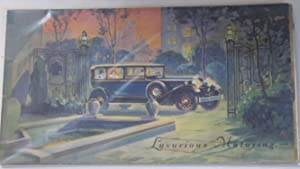 LUXURIOUS MOTORING.: Packard Automobile/Advertising