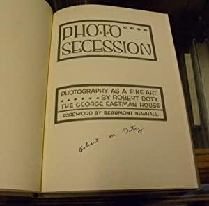 PHOTO SECESSION. Photography as a Fine Art.: Doty, Robert