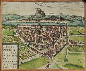 "Wurtzburg"" - Herbipolis comuniter Wirtzburg, orientalis franciae"